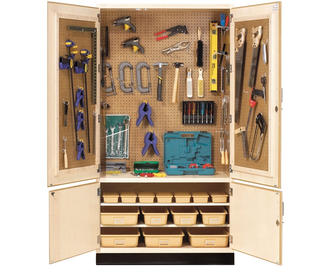 Diversified Woodcrafts Tech-Ed Tool Storage Cabinet DIVTETC-40-
