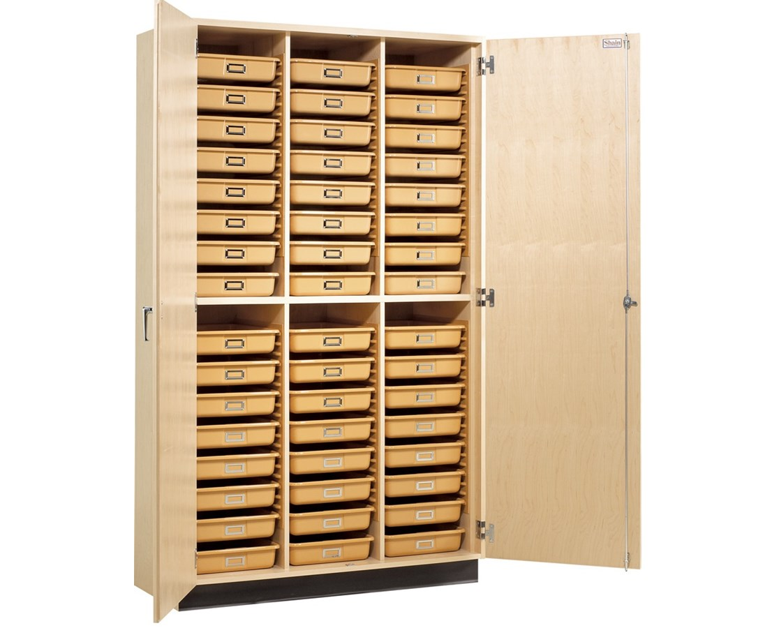 Diversified Woodcrafts Tote Tray Cabinet DIVTTC-48