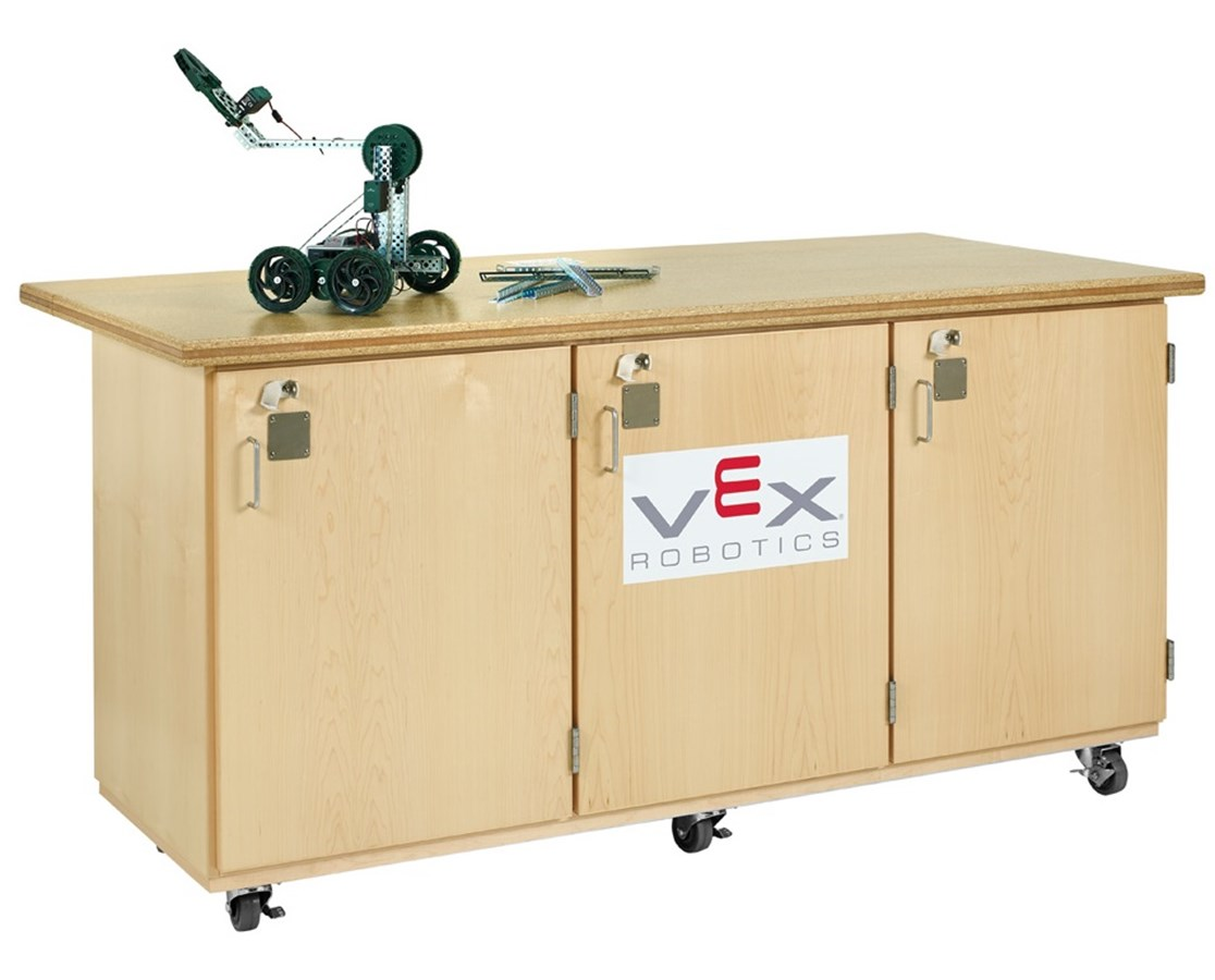 Diversified Woodcrafts Mobile Robotics Workbench Cabinet DIVVXR-7228M