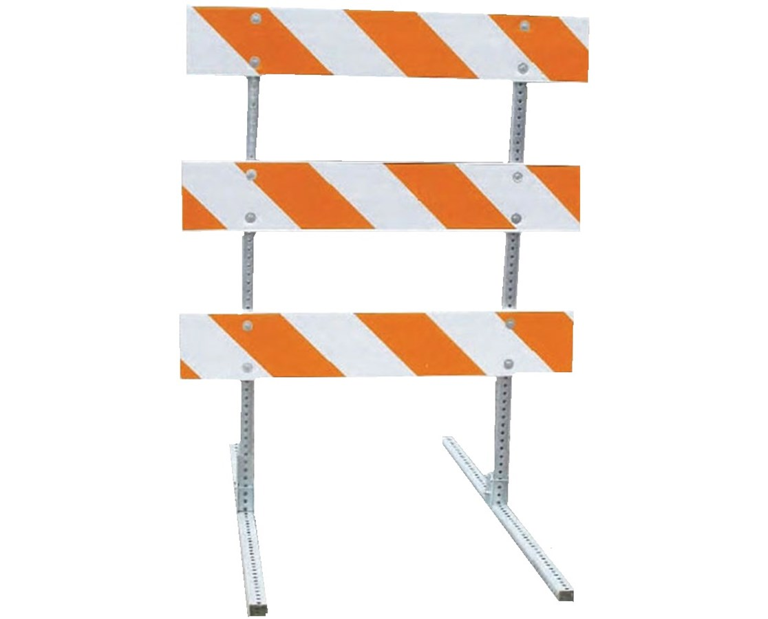 Eastern Metal BC-3000 Series Break-A-Way Left & Right Barricade EASBC-3105-4-EG-L_R-