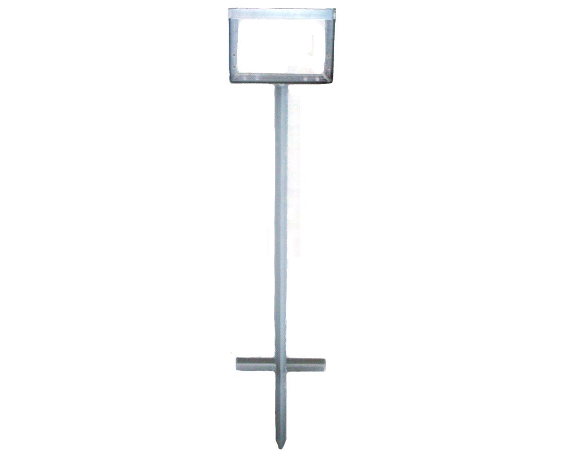 Eastern Metal POGO Ground Stake Economy Sign Stand (Qty. 6) EASPGS