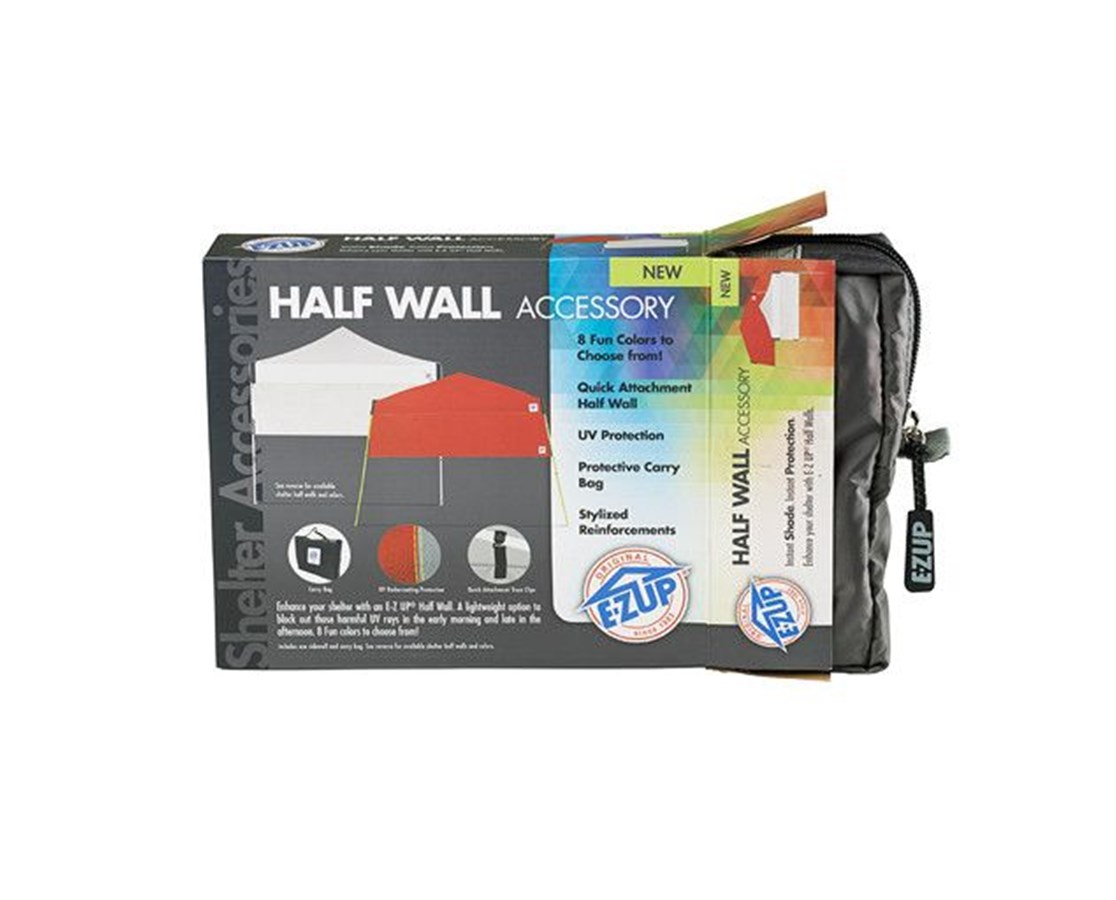 Half Wall for E-Z Up Straight Leg Instant Shelters EZUHW3PN10ALGY-