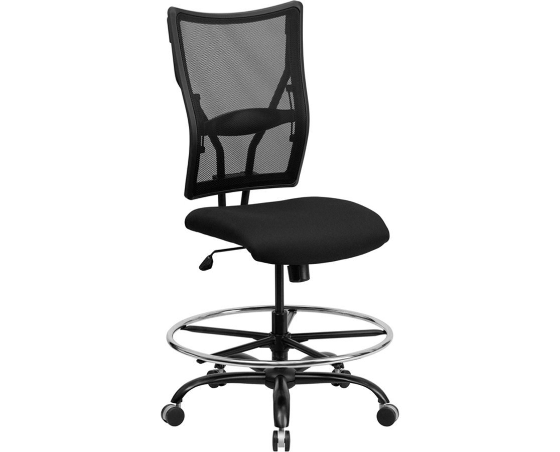 Flash Furniture Hercules Mesh Drafting Chair WL-5029SYG-D-GG