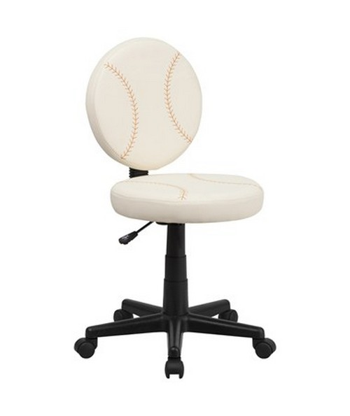 Baseball Task Chair [BT-6179-BASE-GG] FLFBT-6179-BASE-GG
