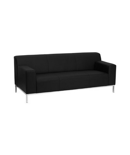 Flash Furniture HERCULES Definity Series Contemporary Leather Sofa ...