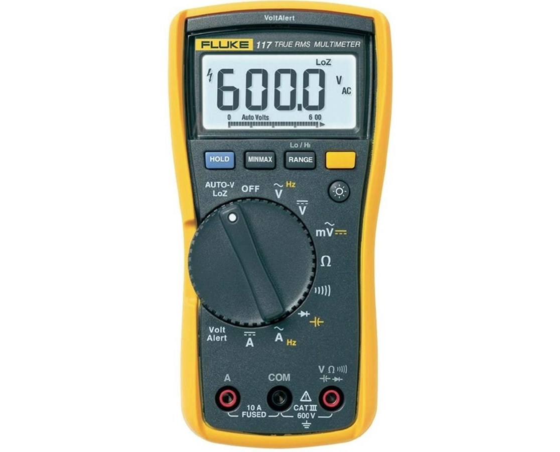 Fluke 117 Electricians Non-Contact Voltage Digital Multimeter FLU2538815-