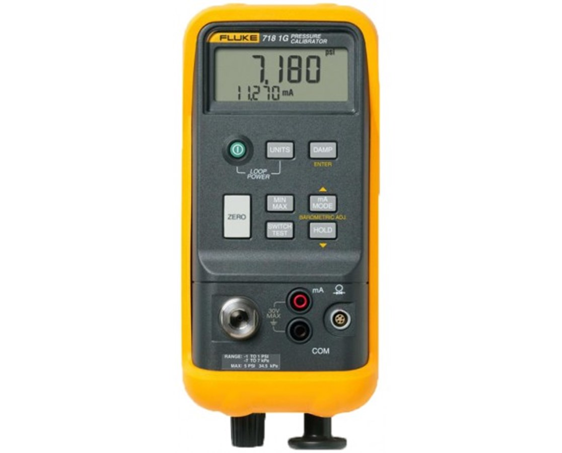 Fluke 718 Series Pressure Calibrator with Integrated Pump FLU2547148-