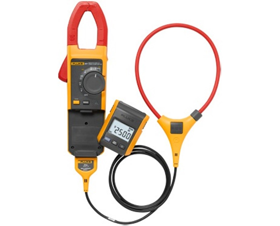 Fluke 381 Remote Display True-RMS AC/DC Clamp Meter with iFlex Probe FLU3610452