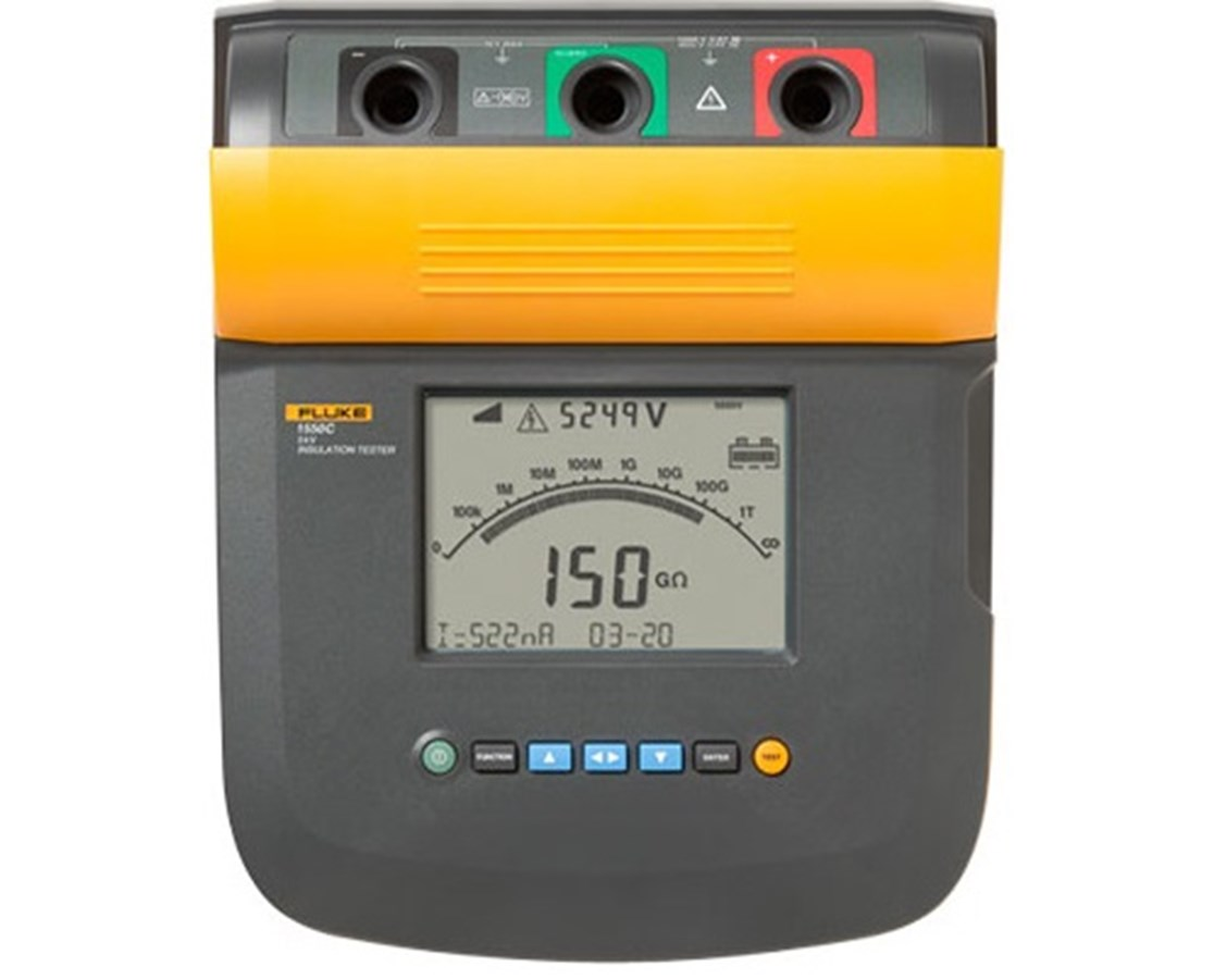 Fluke 1550 Series KV Insulation Tester FLU3665021-