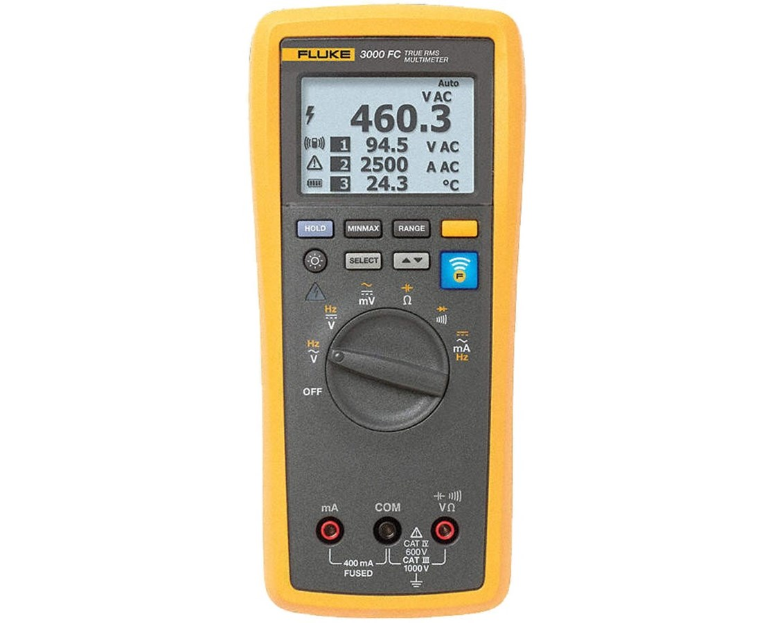 Fluke 3000 FC Series Wireless Multimeter FLU4401595-