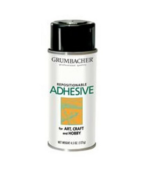GRUMBACHER® Repositionable Spray Adhesive GB648-1