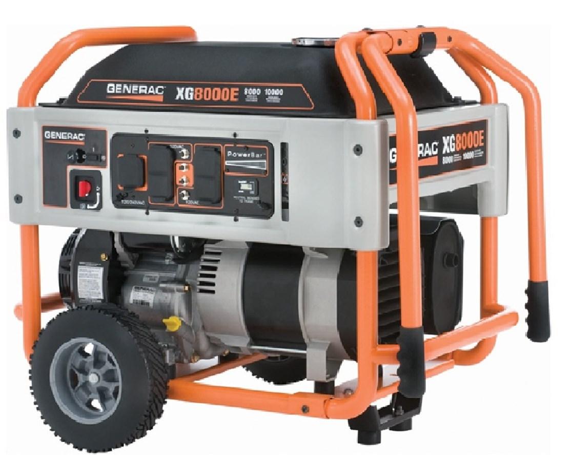 Generac XG8000E Portable Generator
