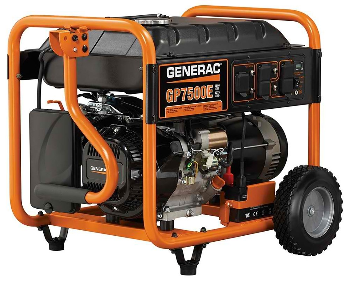 Generac GP7500E Portable Generator