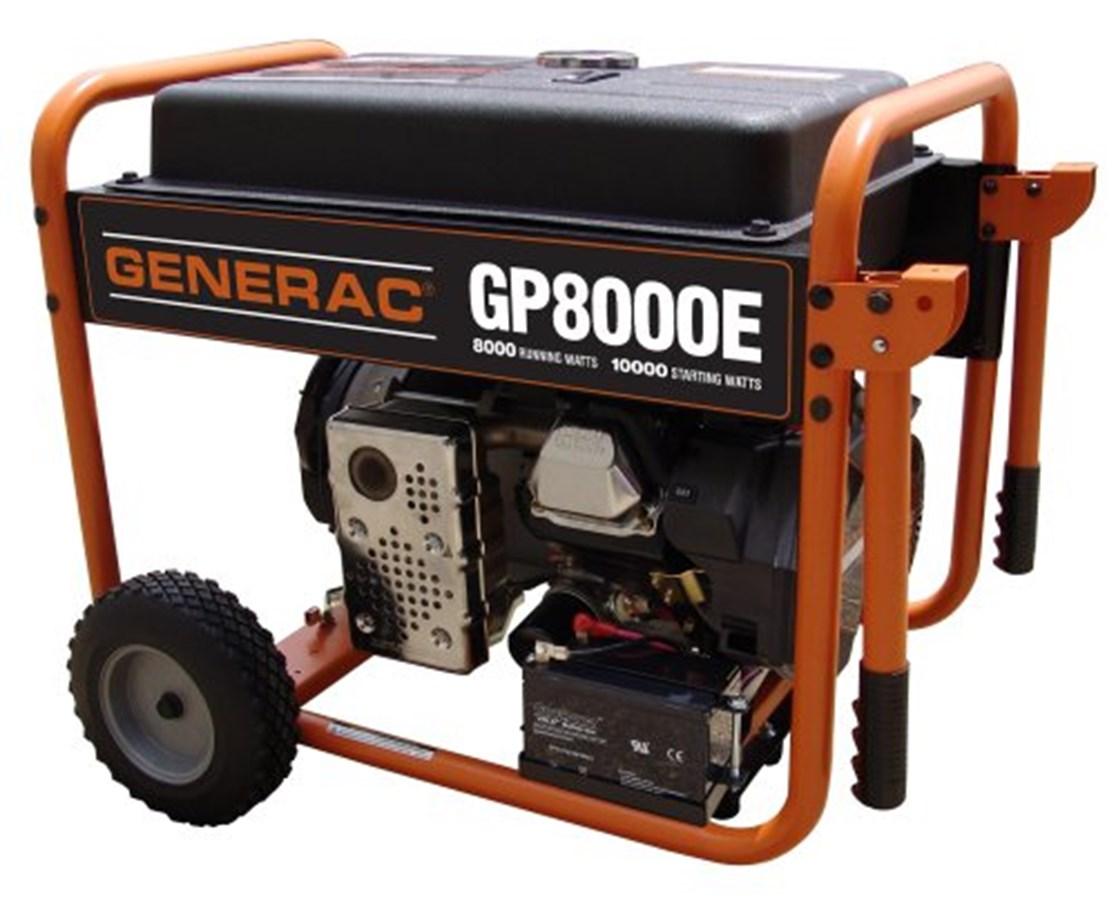 Generac GP8000E Portable Generator