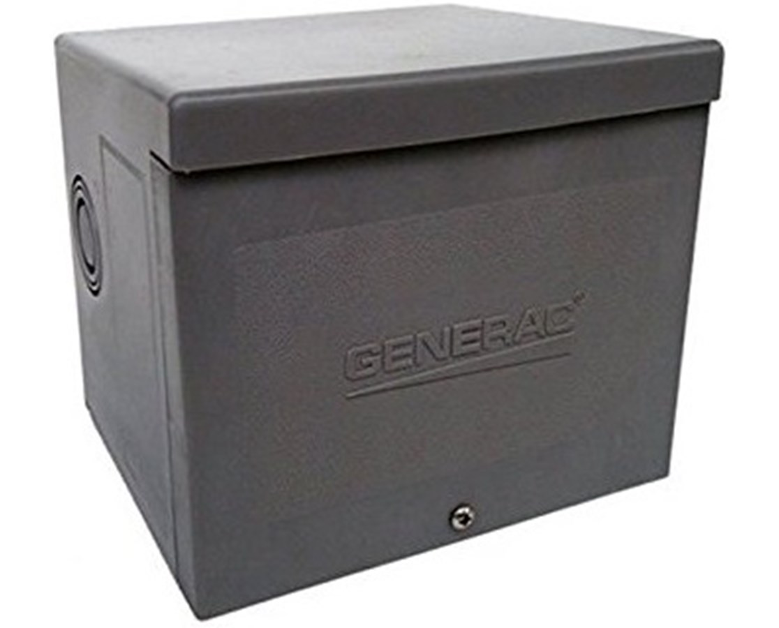 Generac 30-Amp Raintight Resin Power Inlet Box GEN6337-