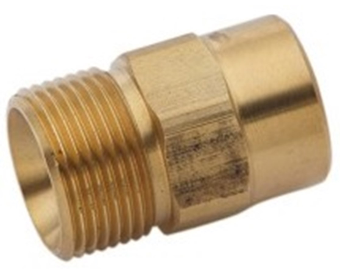 Generac Male Metric x 3/8 inch FPT Adapter GEN6623