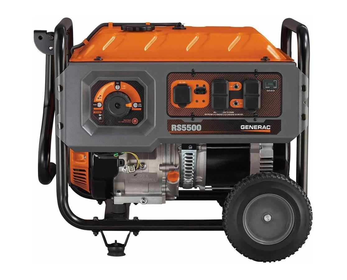 Generac 6672 RS5500 Portable Generator