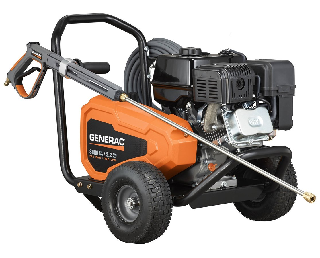 Generac 3800PSI Belt-Drive Power Washer GEN6712