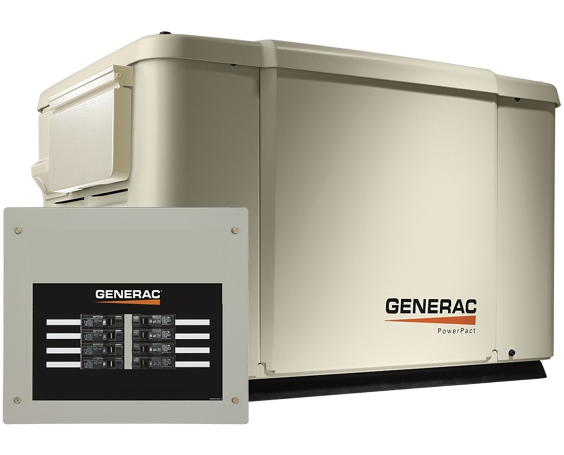Generac 7.5/6kW Air-Cooled Standby Generator GEN6998