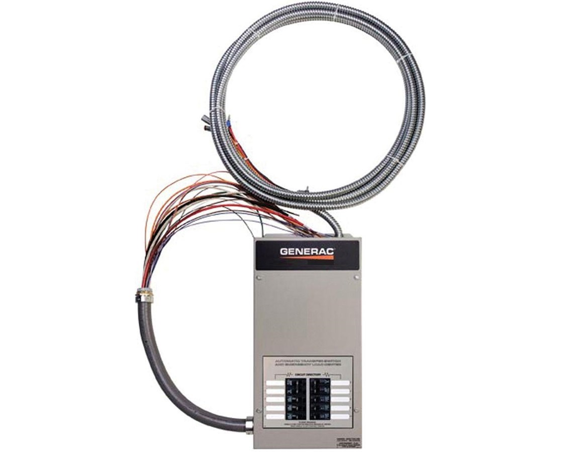 Generac Pre-Wired Automatic Transfer Switch w/ Built-in Load Center GENRXG10EZA1-