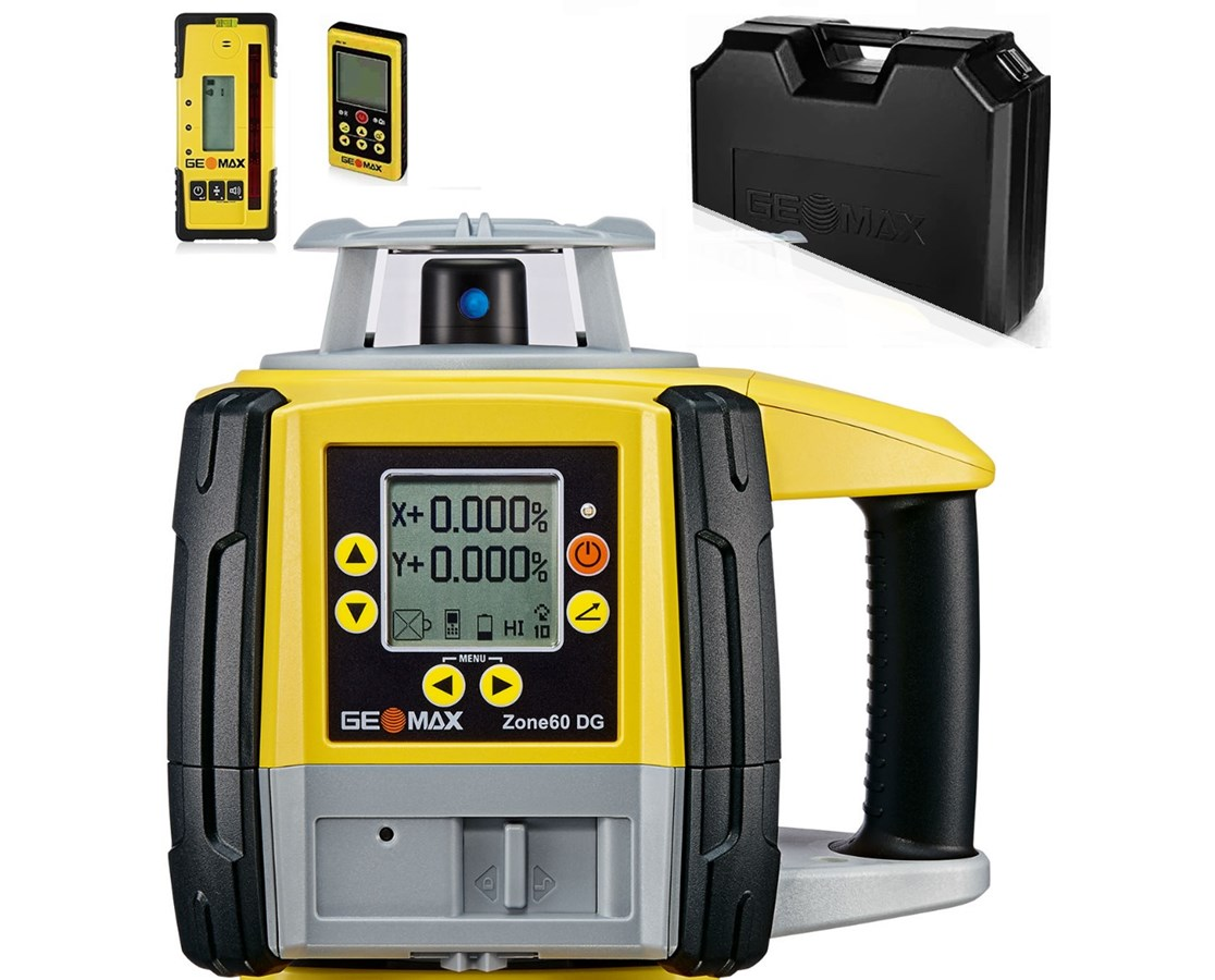 GeoMax Zone60 DG Fully-Automatic Dual Grade Laser GEO6010665-