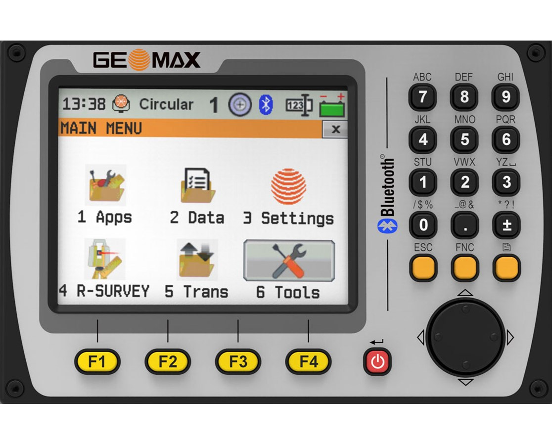 Second Keyboard for Geomax Zoom40 / 50 Series Total Station GEO865974