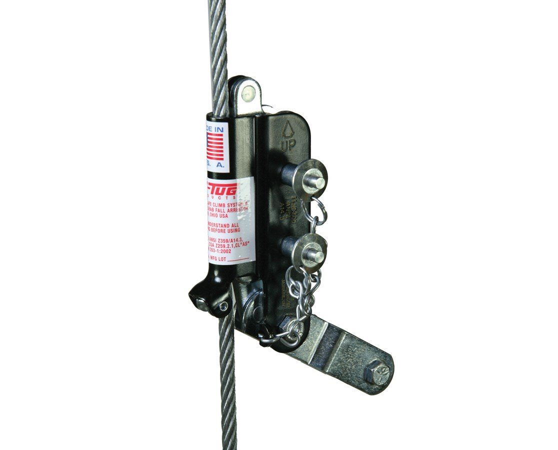 "Guardian Fall Protection Cable Grab for 3/8"" Diameter Cable GUA01510"