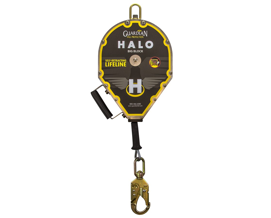 Guardian Fall Protection Halo Big Block Cable SRL Retractable Lifeline GUA10917-