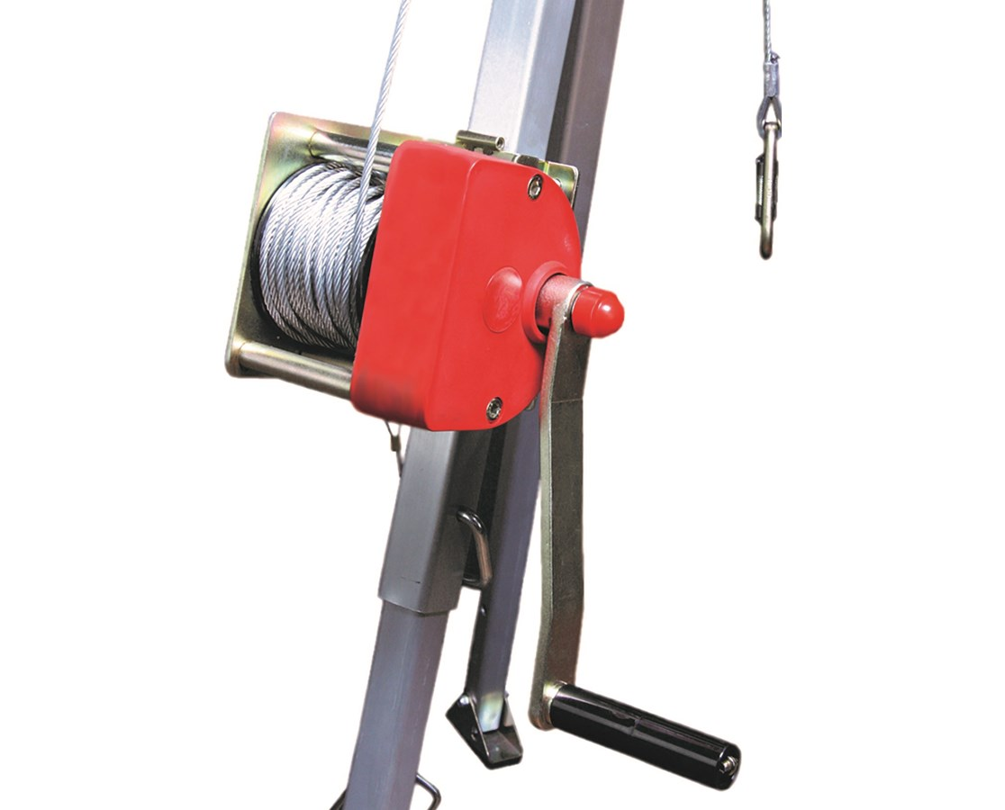 Rescue Winch for for Guardian Fall Protection Arc-O-Pod
