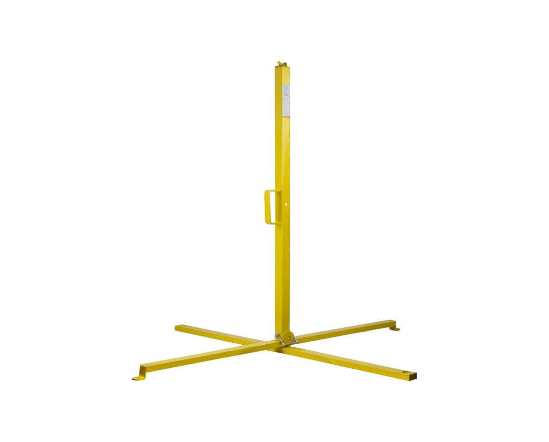 "Guardian Fall Protection 39"" Single Warning Line Stanchion"