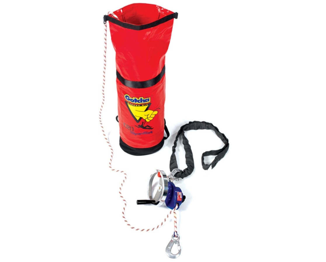 Guardian Fall Protection Gotcha Constant Rate Descent Rescue Kit GUA53032-