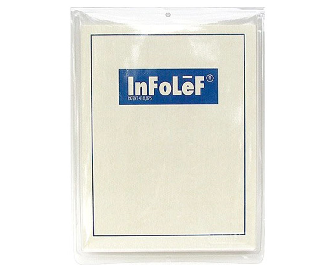 Infolef Single Sheet Literature Display (20 Pairs) INF1000