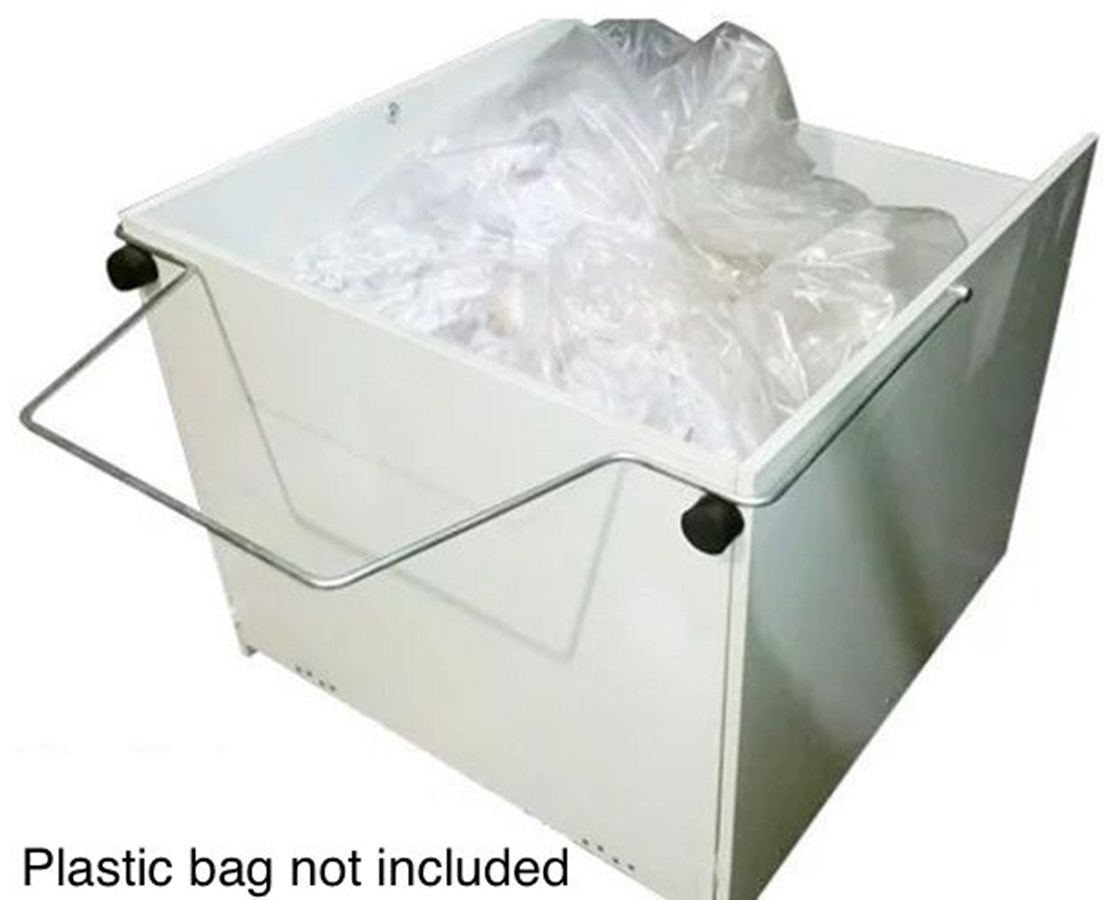 Waste Receptacle w/ Wheels for Intimus 16.50 Series Shredder INT71399