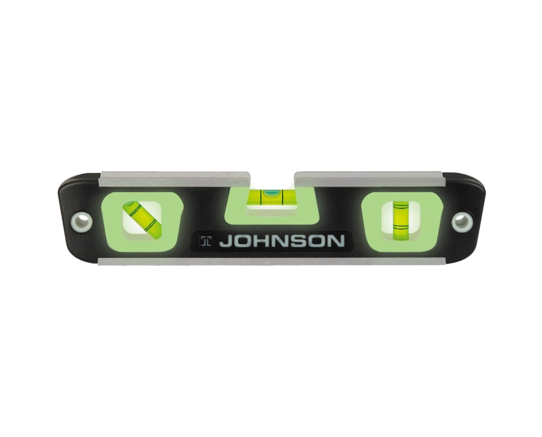 "Johnson 10"" Magnetic Torpedo Level 007"
