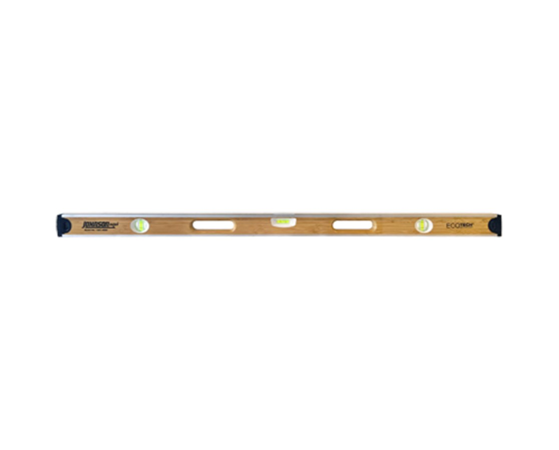 "Johnson 48"" Eco-Tech Bamboo Level JOH1601-4800-"