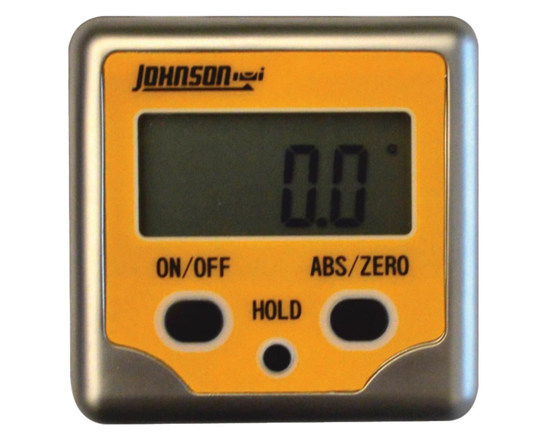 Johnson Aluminum Magnetic Digital Angle Locator 1886-0200