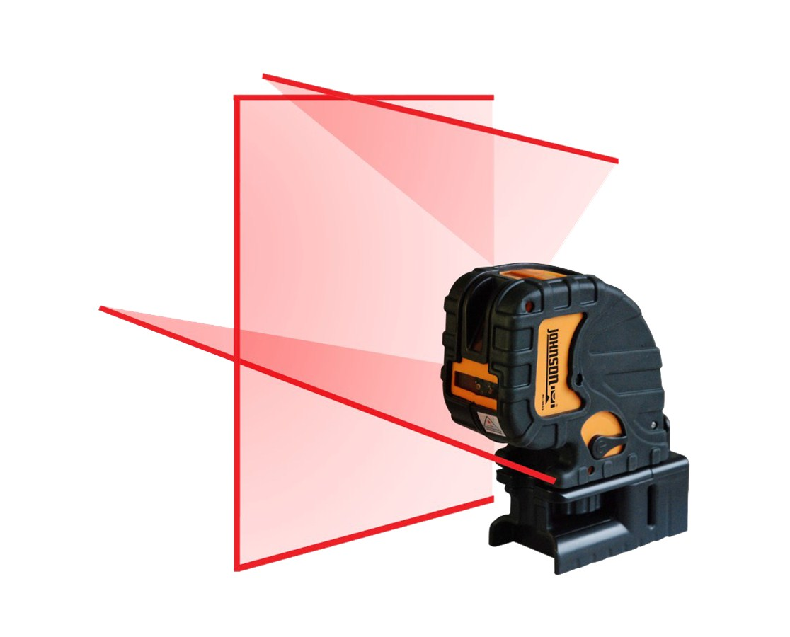 Johnson 3-Point and 3-Line Laser Level 40-6683