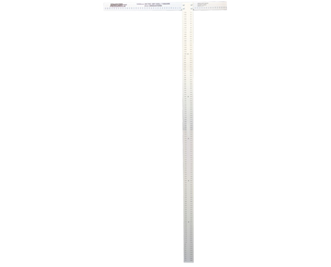 Johnson Level Metric Heavy Duty Professional Aluminum Drywall T-Square JOHJTS1200HD-