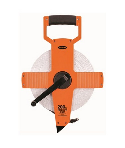 Keson Open-Type Reel,Ultra-Glass Blade OTR Measuring Tape 100-Foot KESONOTR18100