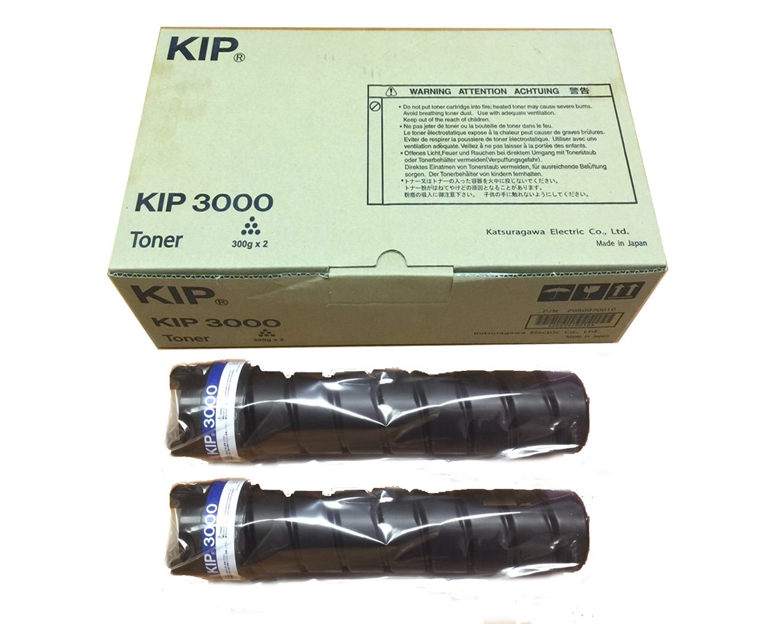 KIP 3000 Toner Cartridge (2-Pack) KIPSUP3000-103