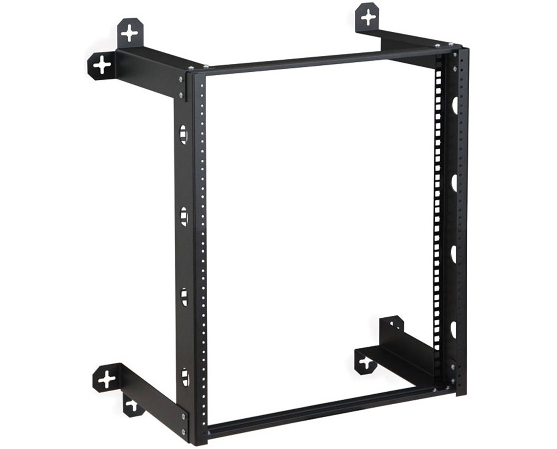 Kendall Howard V-Line Open Frame Wall Mount Rack KNH1915-3-300-12-