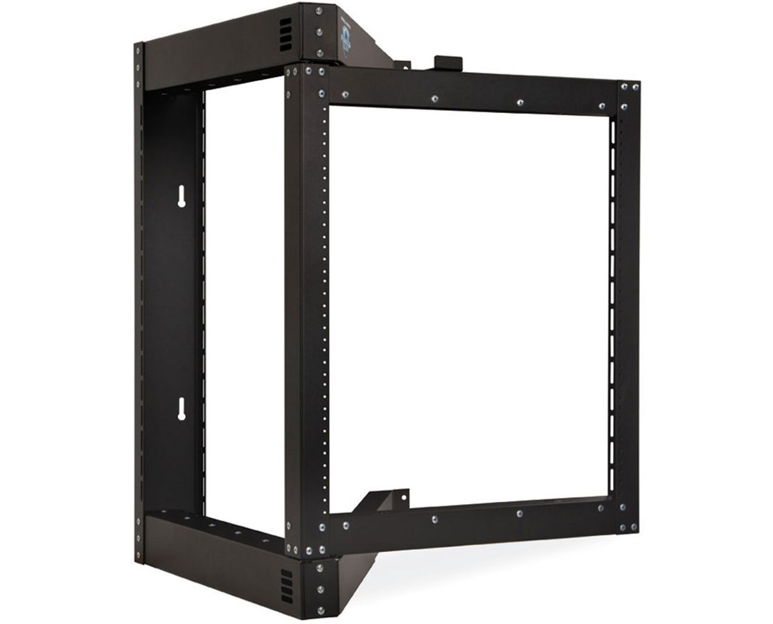 Kendall Howard Phantom Class Open Frame Swing-Out Wall Mount Rack KNH1915-3-800-12-