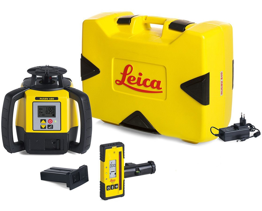Leica Rugby 680 Rotary Laser Level LEI-6008624.