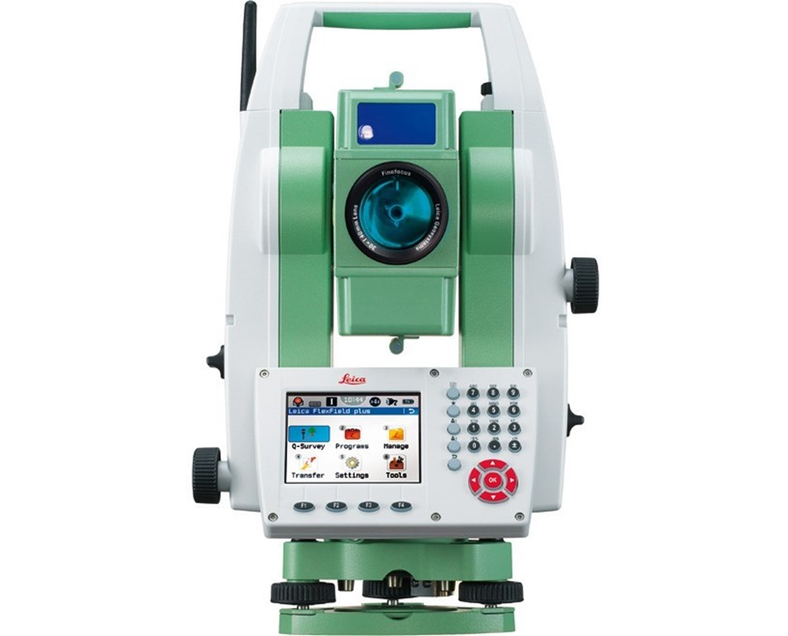 Leica Flexline TS09 Plus 1 Second Reflectorless Total Station with Bluetooth LEI785795