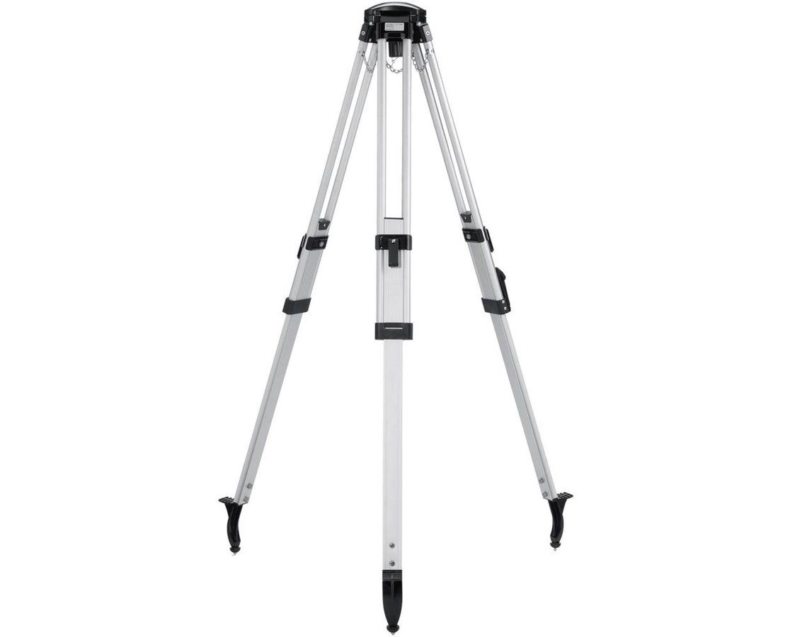 Leica 767711 CTP104D Dome Head Aluminum Tripod with Fast Clamps LEI767711