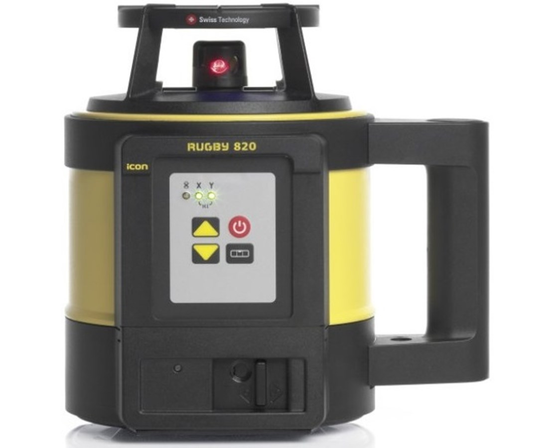 Leica Rugby 820 Self-Leveling Rotary Laser LEI6006011-