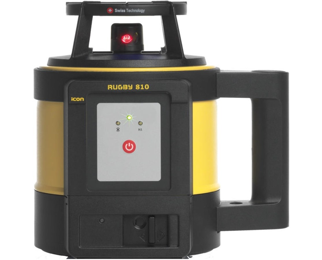 Leica Rugby 810 Self-leveling Rotating Laser 6009876