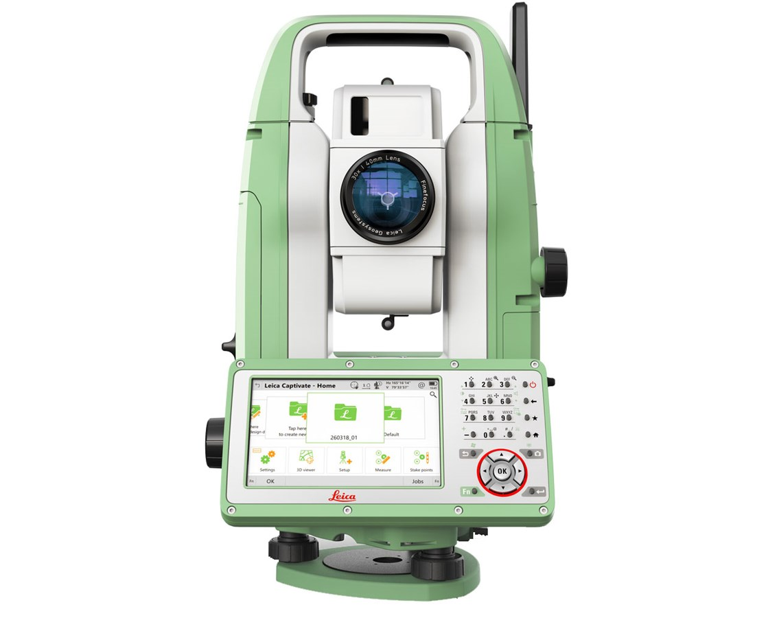 Leica FlexLine TS10 Reflectorless Manual Total Station LEI868825-