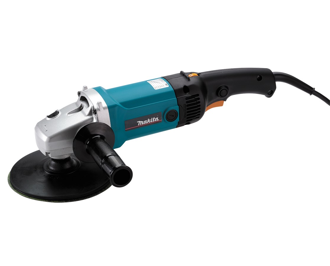 "Makita 9227CY 7"" Electronic Sander-Polisher, Variable Speed with Side Handle MAK9227CY"