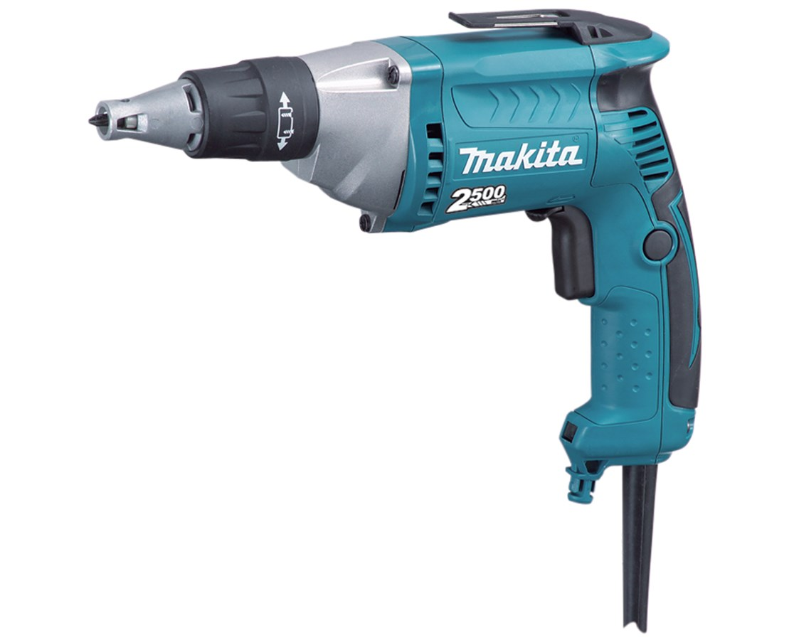 Makita FS2200 Drywall Screwdriver; 2,500 RPM,Variable Speed, Reversible with L.E.D. Light MAKFS2200